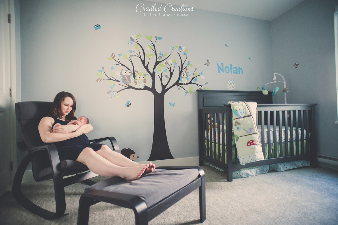 Baby nursing room