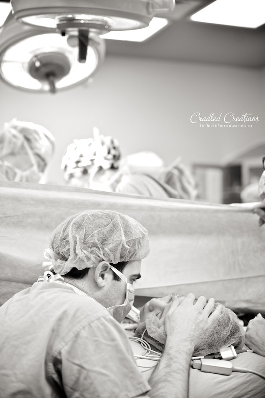 c section birth photography