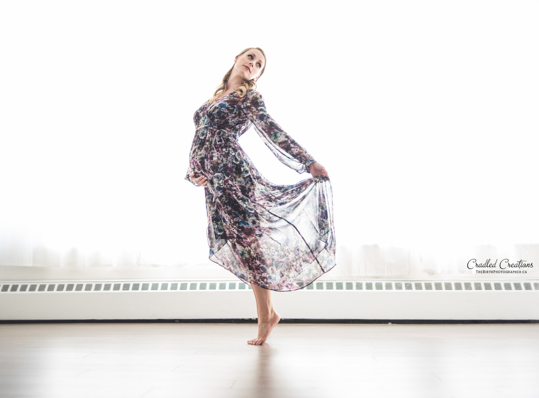 Maternity Dancer Studio Photo